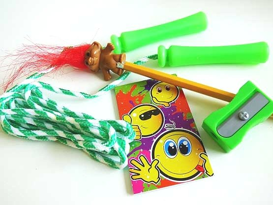 Smiley Troll & Skipping Rope Party Bag