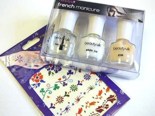 French Manicure Party Bag