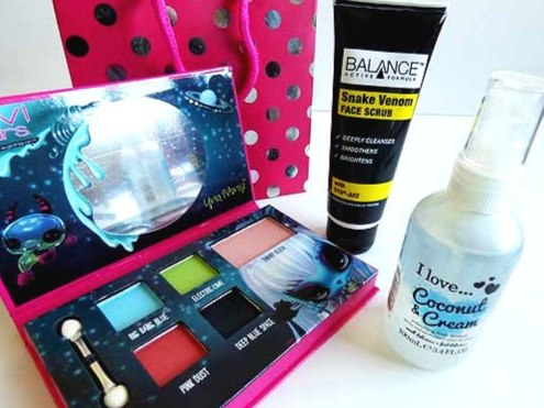 Teen Cosmetics Party Bag