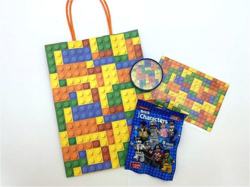 Bricks Deluxe Paper Party Bag