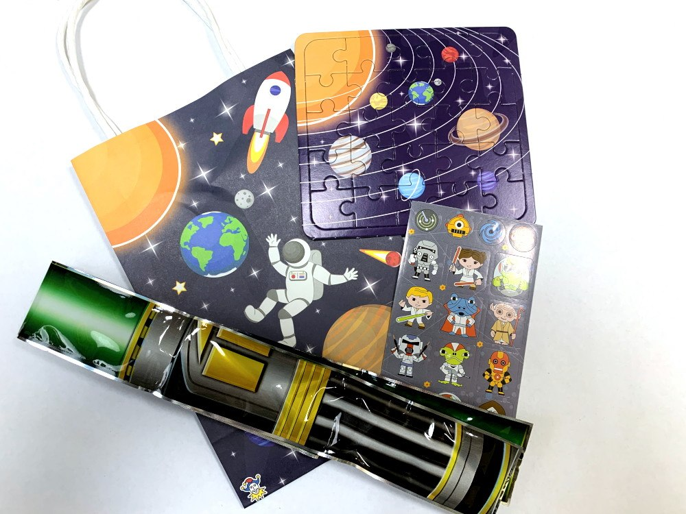 Space Cadet Paper Party Bag