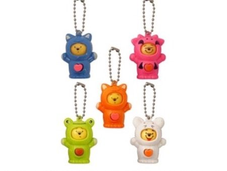 Animal Changing Face Keychain