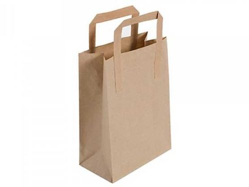Brown Recyclable Carry Bag