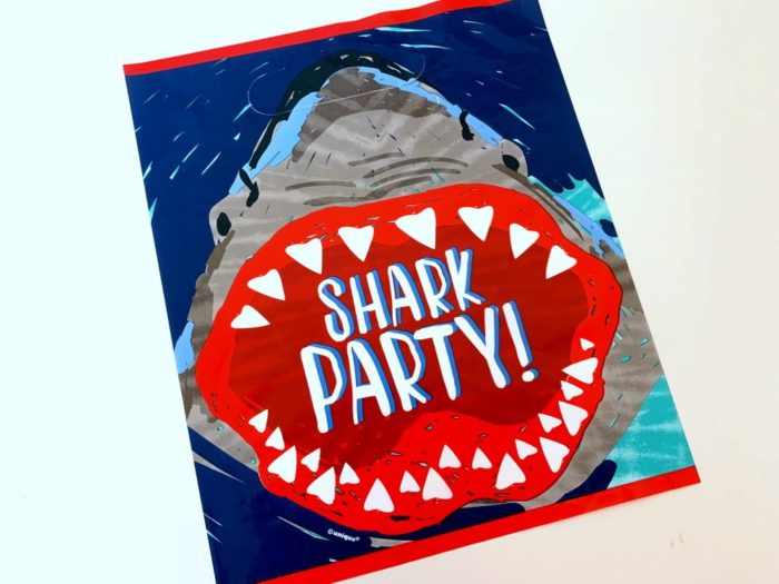 Shark Party Loot Bag