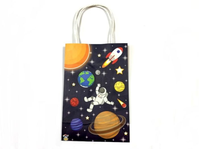 Space Gift / Party bag wt handles (21x14x7)