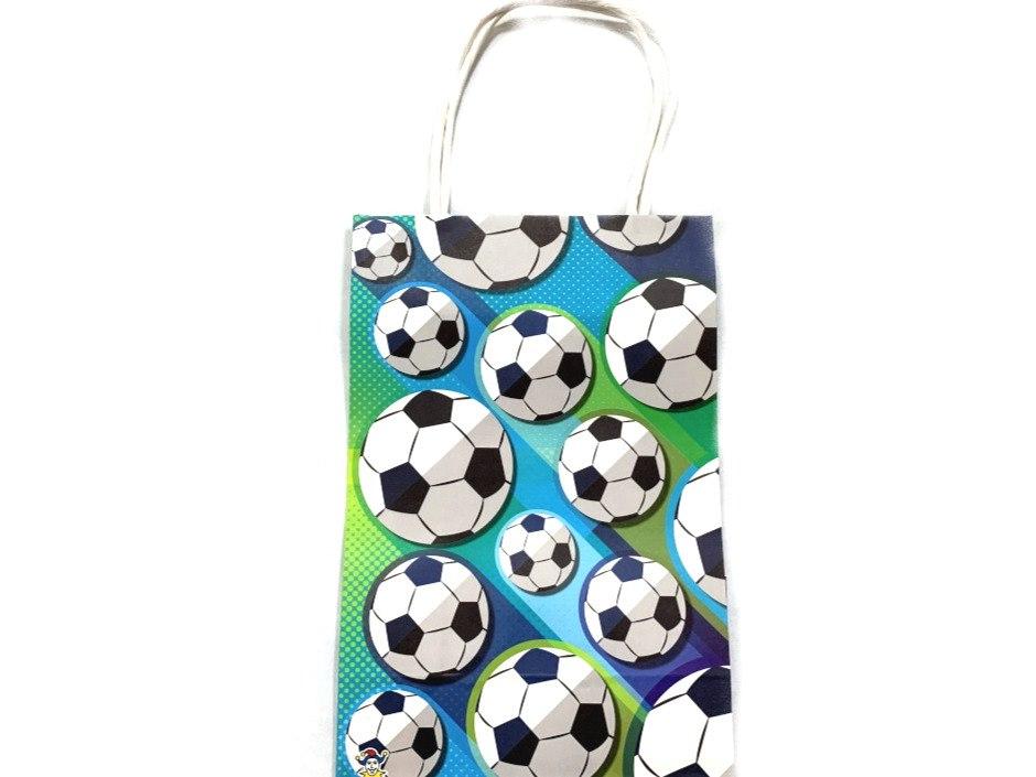 Football Gift / Party bag wt handles (21x14x7)