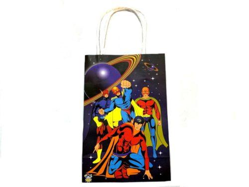 Super Hero Paper Party Bag (21x14x7)