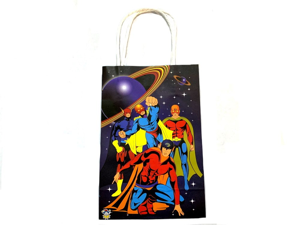 Super Hero Paper Party Bag (21x14x7)