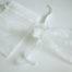Medium White Organza Drawstring Bag