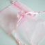 Medium Pink Organza Drawstring Bag