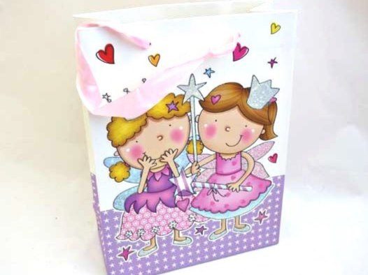 Large Sparkly Fairy Gift Bag
