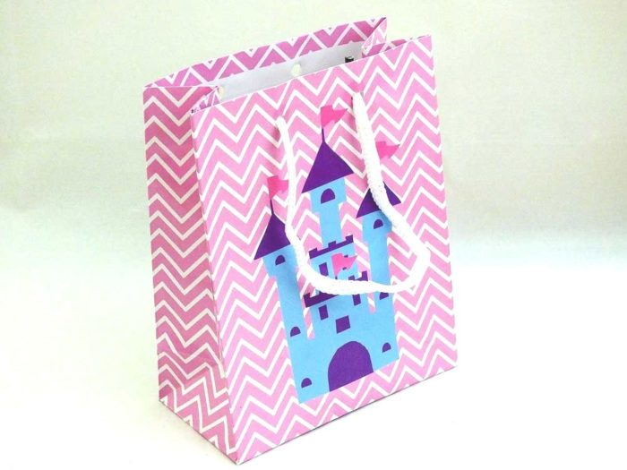 Princess Castle Gift Bag (15x12x6)