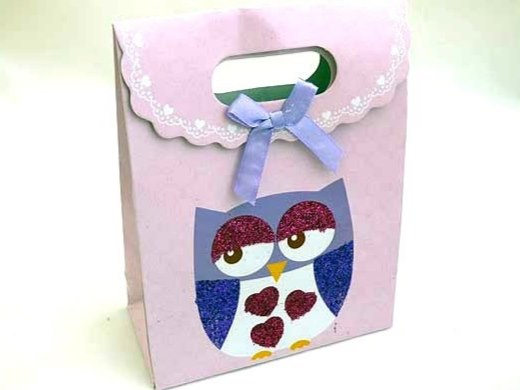Sparkly Owl Gift Box