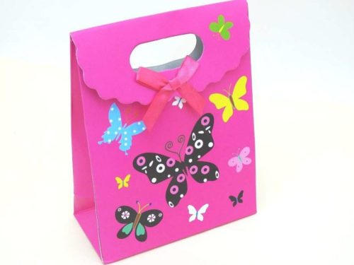 Butterfly Gift Bag with Velcro Closure