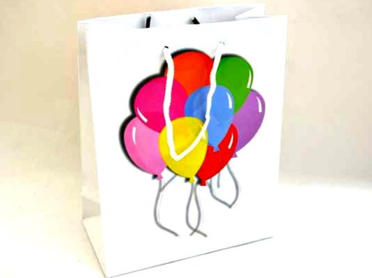 Large Balloons Gift Bag (23x18x9)