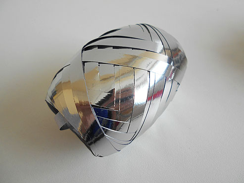 Silver Ribbon Spool