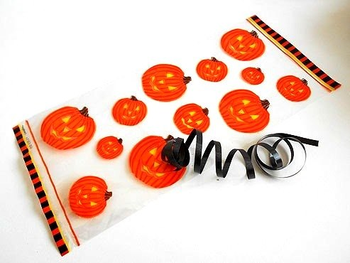 Pumpkin Cellophane Bag