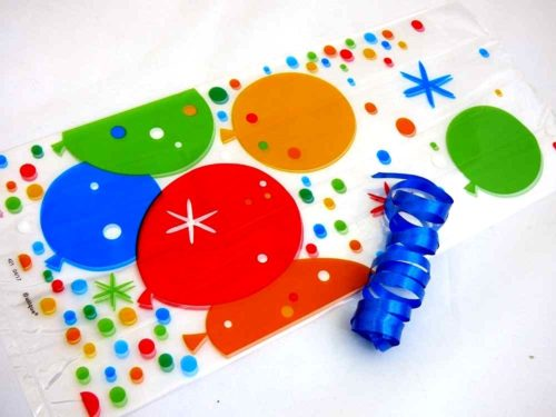Bright Balloons Cellophane Bag