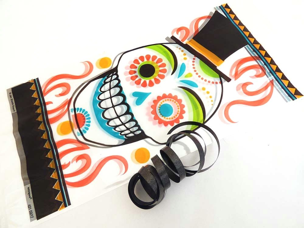 Day of the Dead Cellophane Bag