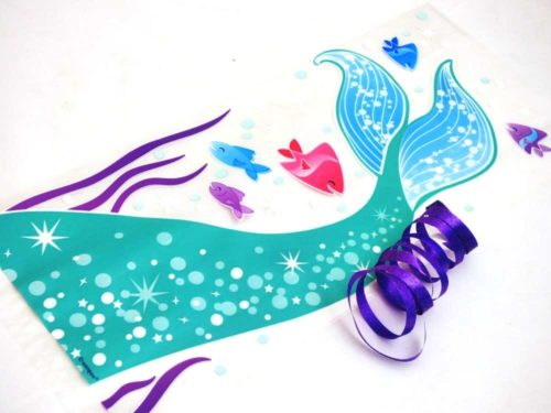 Mermaid Cellophane Bag