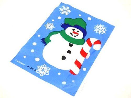 Mini Snowman Treat Bag