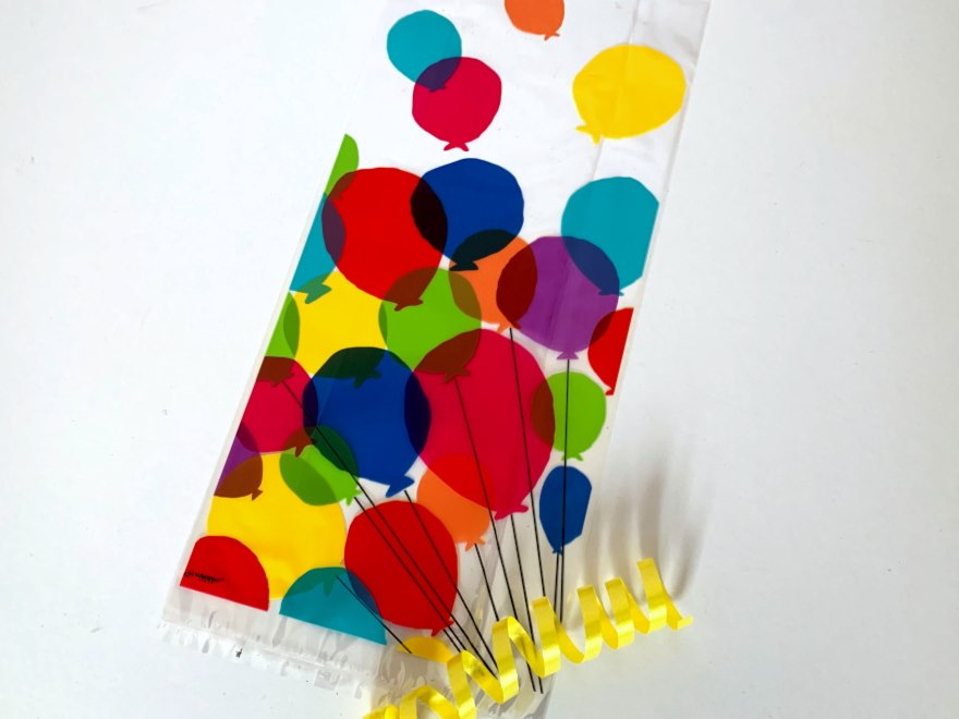 Balloons Cellophane Bag