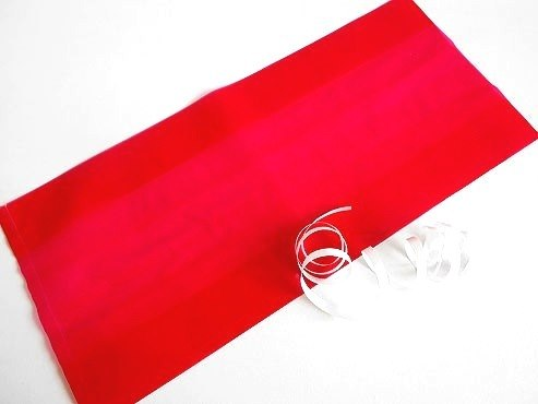 Clear Red Cellophane Bag