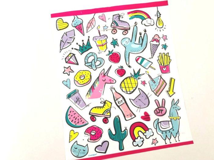 Doodle Loot Bag