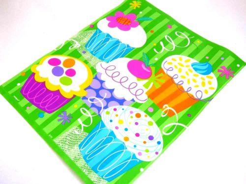 Groovy Cupcake Loot Bag