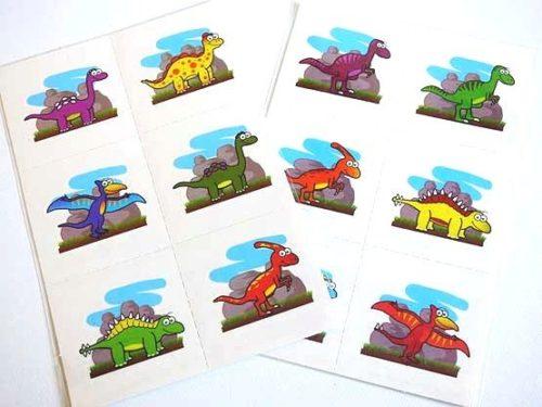 6 Dinosaur Tattoo Sheet