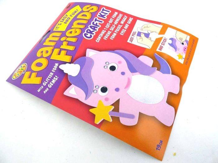 Easy Craft - Foam Friends - UNICORN