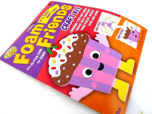Easy Craft - Foam Friends - CUPCAKE
