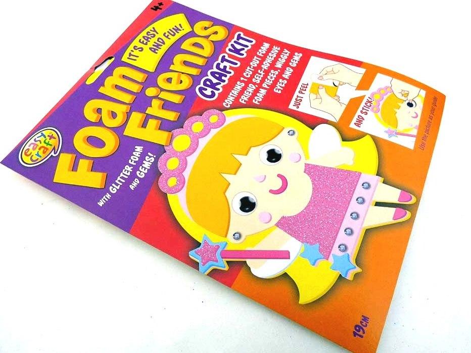 Easy Craft - Foam Friends - FAIRY