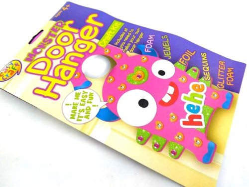 Easy Craft - PINK MONSTER DOOR HANGER