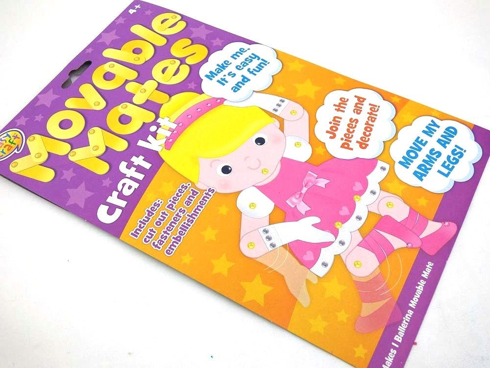 Easy Craft Kit - Movable Mates - BALLERINA