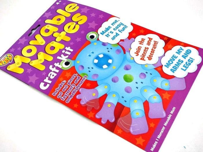 Easy Craft Kit - Movable Mates - MONSTER