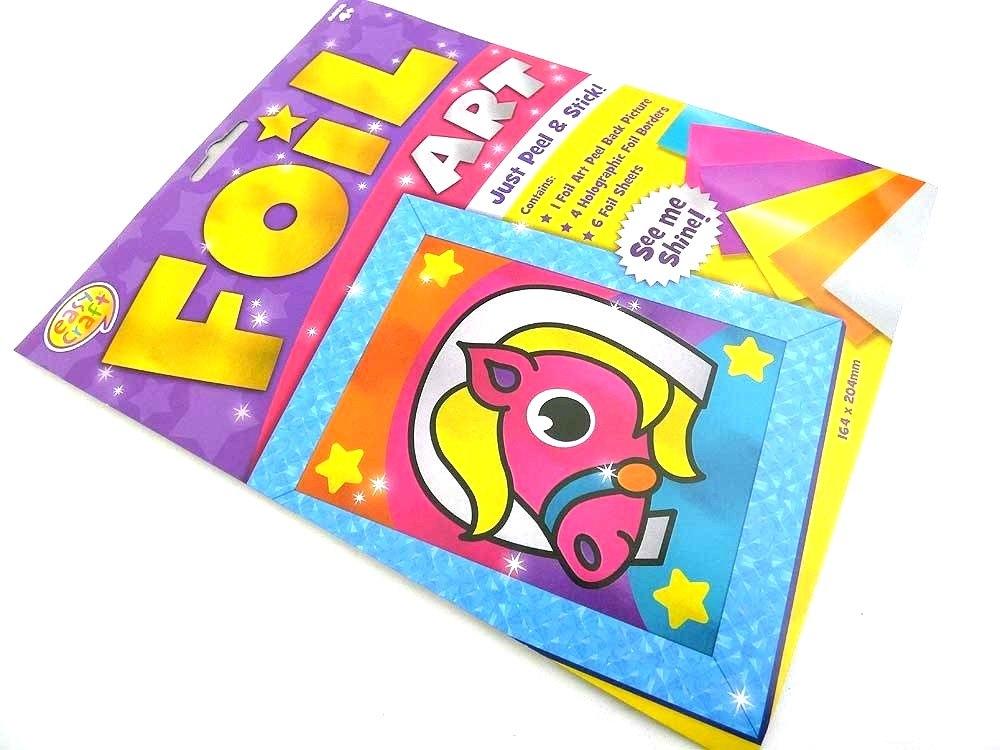 Easy Craft Kit - Foil Art - PONY