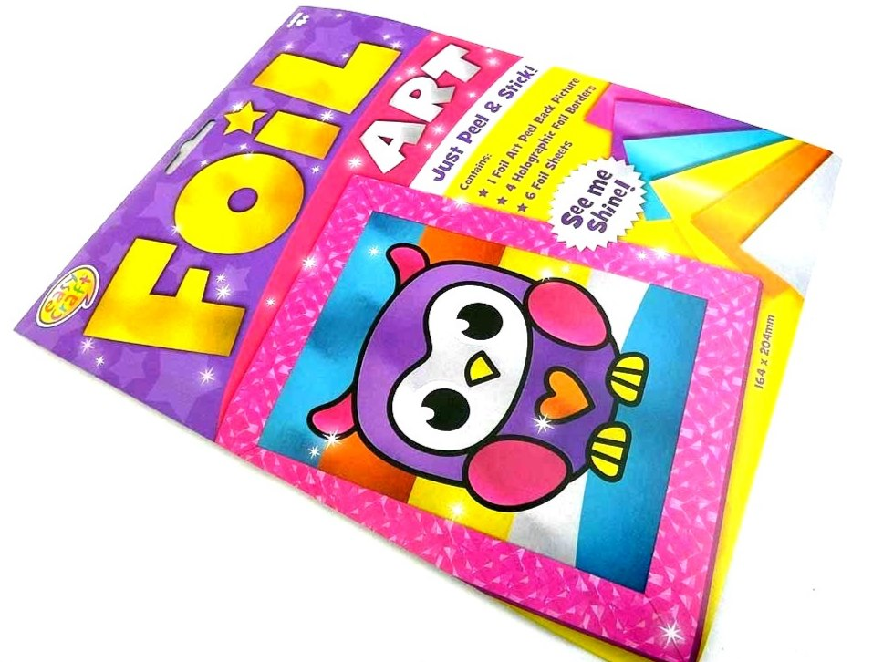 Easy Craft Kit - Foil Art - OWL