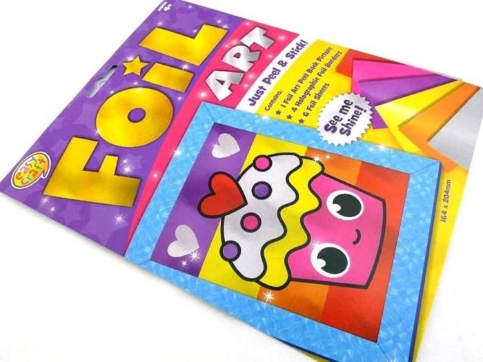 Easy Craft Kit - Foil Art - CUPCAKE