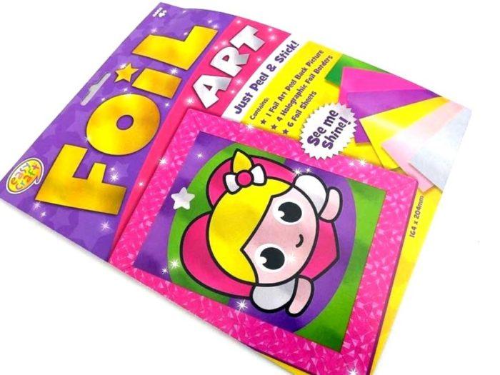 Easy Craft Kit - Foil Art - FAIRY