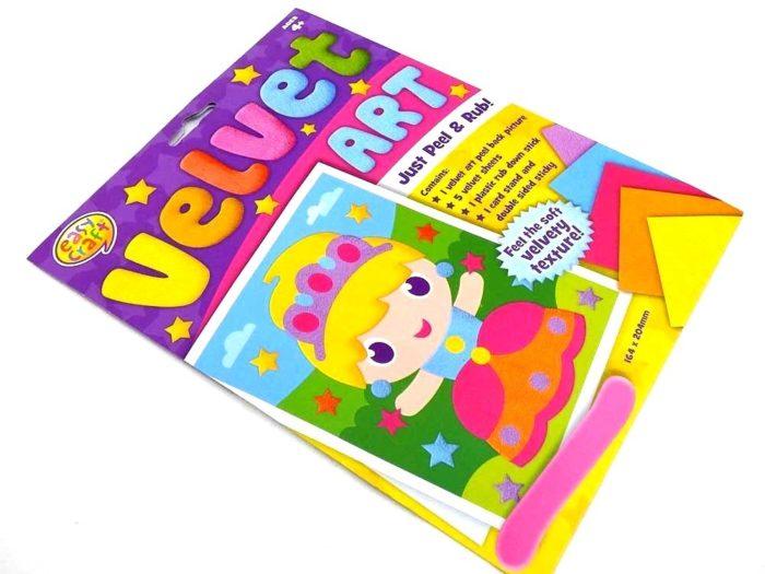 Easy Craft Kit - Velvet Art - PRINCESS