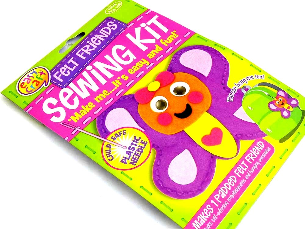 Easy Craft - Felt Friends Sewing Kit - BUTTERFLY
