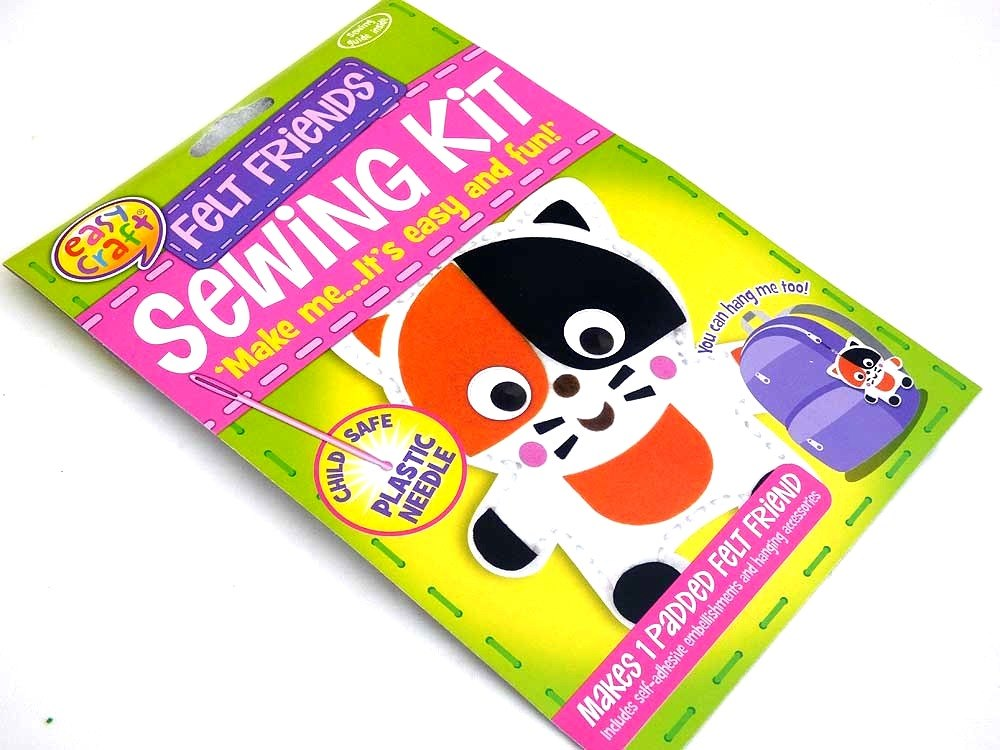 Easy Craft - Felt Friends Sewing Kit - CAT