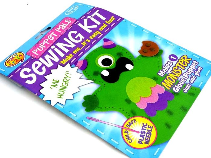 Easy Craft - Puppet Pals Sewing Kit - MONSTER