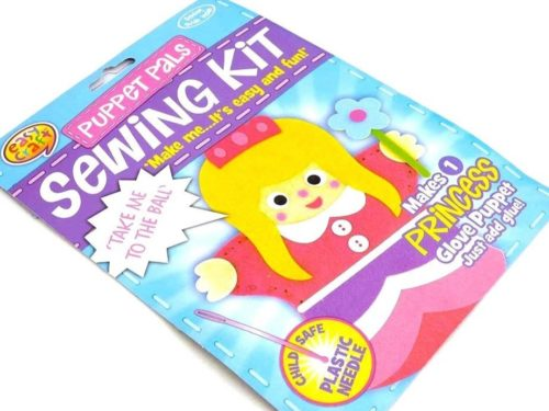 Easy Craft - Puppet Pals Sewing Kit - PRINCESS