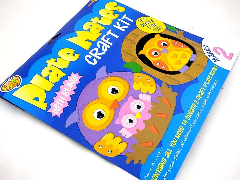 Easy Craft Kit - Plate Mates - OWLS