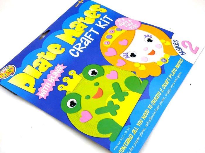 Easy Craft Kit - Plate Mates - FROG & PRINCESS