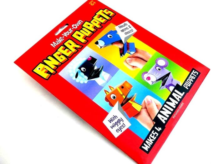 Moving Mouth Finger Puppets Kit - ANIMAL