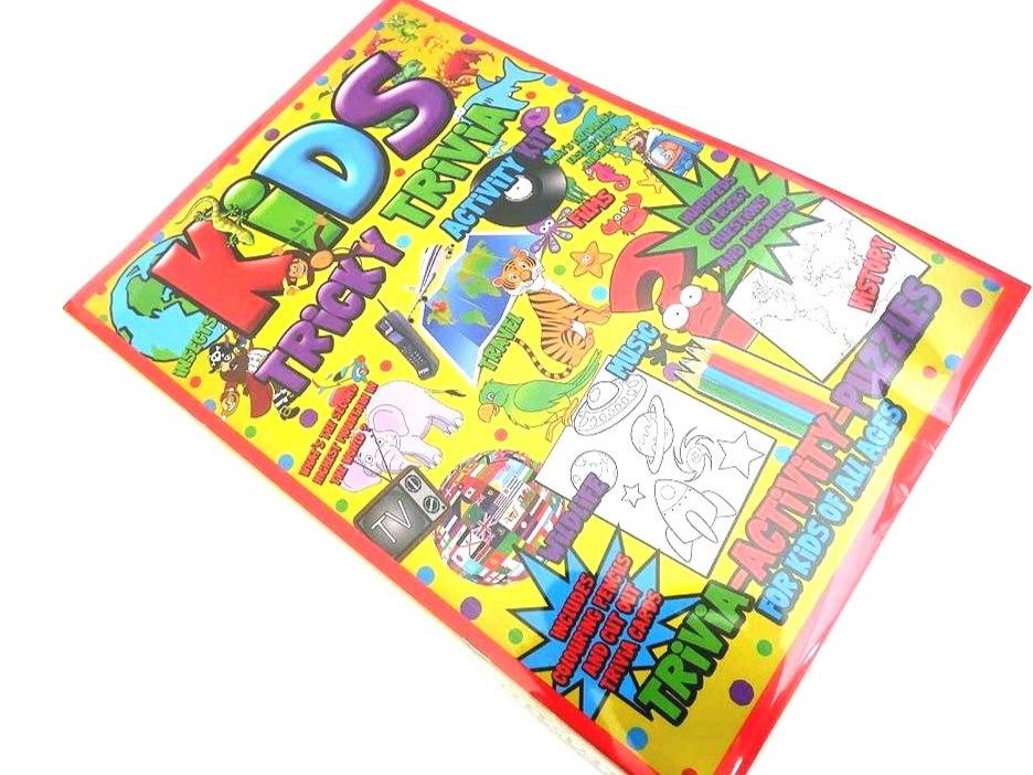 Kids Tricky Trivia Activity Pack