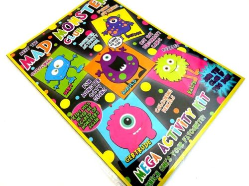 Mad Monster Club Activity Pack